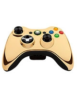 Wireless Controller Chrome Gold 43G-00055 - Xbox 360