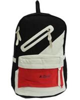 Back Bag Black x White x Red AC-900 - Jel Activ