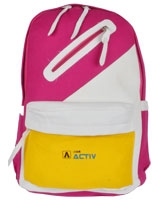 Back Bag Pink x Yellow AC-900 - Jel Activ