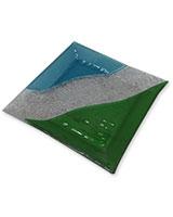 Glass Plate Blue & Green 904101