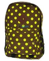 Back Bag Brown x Green AC-907 - Jel Activ