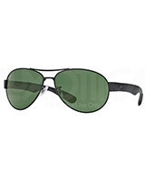 Mens Sunglasses 3509 Matte Black 671 - Ray Ban