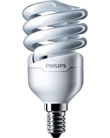 Two Pieces of Tornado 12W CDL E14 220-240V 1CT/12 Cool Daylight - Philips