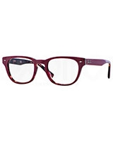 Mens Optical Glasses 5309 Top Red On Havana 5236 - Ray Ban
