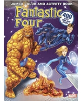Fantastic Four Jumbo Color & Activity Book