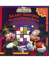 Mickey Mouse Scary Sudoku Sticker Puzzle Book