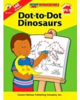 Dot-To-Dot Dinosaurs, Grades PK - 1 Home Workbooks