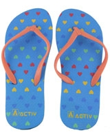 Slipper For Woman 120080 Blue/Orange - Jel Activ