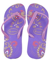 Slipper For Woman 120081 Purple/Purple - Jel Activ
