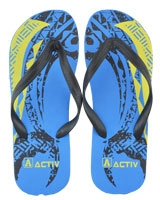 Slipper For Men 120087 Blue/Black - Jel Activ