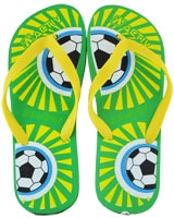 Slipper For Men 120099 Green/Yellow - Jel Activ
