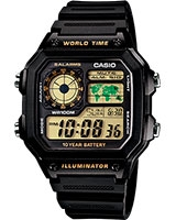 Youth Digital Watch AE-1200WH-1BV - Casio
