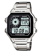 Youth Digital Watch AE-1200WHD-1AV - Casio