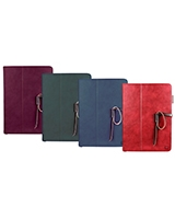 Agenda Premium Protective Leather Case with Stylus Holder and Card Slot for iPad Air - Promate