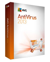 Antivirus version 2013 1 Year - 2 User - AVG