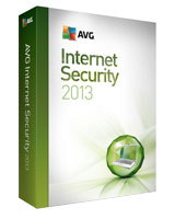 Internet security version 2013 1 Year - 1 User - AVG