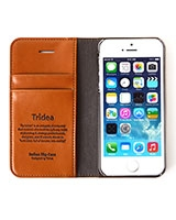 Apple iPhone 5S Italian Wallet Flip Case - Tridea