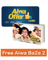 Aiwa Offer Card + Aiwa Ba2a Volume 2