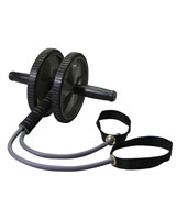 Exercise Wheel With Bungee Cords BB-705 - Body Sculpture