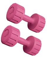 Vinyl Dumbbell 3 KG BW-101-SET - Body Sculpture
