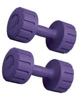 Vinyl Dumbbell 4 KG BW-102-SET - Body Sculpture