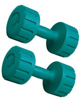 Vinyl Dumbbell 6 KG BW-103-SET - Body Sculpture
