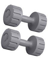 Vinyl Dumbbell 10 KG BW105-SET - Body Sculpture