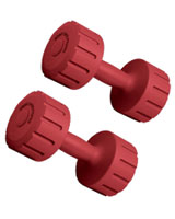 Vinyl Dumbbell 2 KG BW-1OO-SET - Body Sculpture
