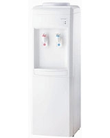 Hot & Cold BY 82 White/Ref Water Dispenser - Bergen