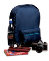 Folding Rucksack - Travel Blue