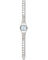 Ladies Flower Box Blue Dial Stainless Steel Bracelet Watch YSS222G - Swatch