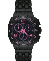 Black Dunes Pink Chronograph Watch SUIB410 - Swatch