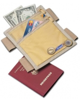 Security Leg Wallet - Travel Blue