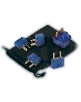 World-Wide Adaptor Set - Travel Blue
