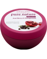 Pure Nature Organic Açai & Pomegranate Antioxidant Night Cream - Oriflame