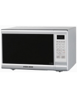 30 Liter Microwave Oven With Grill MZ3000PG - Black & Decker