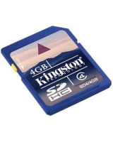 Kingston 4GB SDHC Class 4 Flash Card