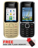 C2-01 - Nokia + Free SanDisk Cruzer® Switch™ USB Flash Drive 8GB