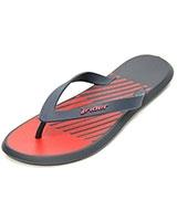Slipper for Men CAL-M-3587 Red & Blue - Rider