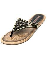 Slipper for Women CAL-W-3614 Black - Grendha