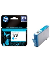 HP 178 Cyan Photosmart Ink Cartridges - CB318HE