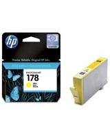 HP 178 Yellow Photosmart Ink Cartridges - CB320HE