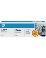 Genuine HP 36A Black Toner Cartridge (CB436A Laser Printer Cartridge)