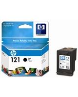 HP 121 Black Ink Cartridges (CC640HE)
