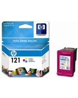 HP 121 Tri-colour Ink Cartridges (CC643HE)