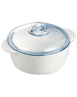 Round casserole Vitroceramic white - Pyrex