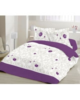 Flat bed sheet California grapes design - Comfort