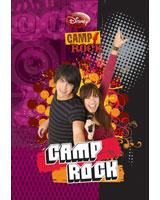 Camp Rock كشكول 250 ورقة سلك مسطر غلاف هارد مقاس 20*28