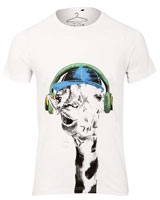 Giraffe graphic T-Shirt White - Ultimate