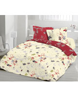 Country Style Design American beauty Fitted Bed Sheet - Comfort